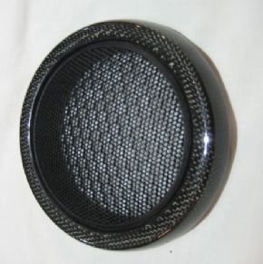 Speaker grille (lower) in carbon fibre